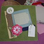 Build a Blossom Scrapbook Page 2