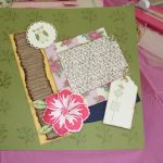 Build a Blossom Scrapbook Page