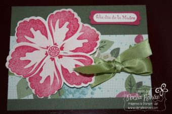 Build a Blossom Stamp Set, Blossom Puncher, Noelia Román Demostradora Independiente de Stampin'Up! en Puerto Rico
